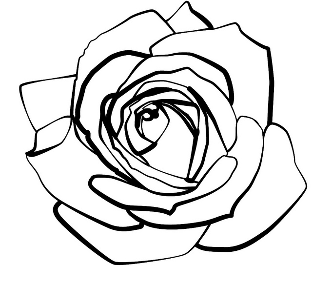 line of roses clipart - photo #13