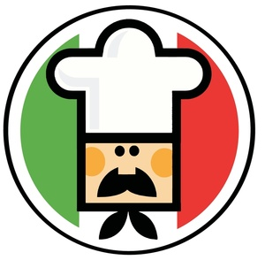 Free Italy Clip Art Image - Italian Chef with Flag of Italy