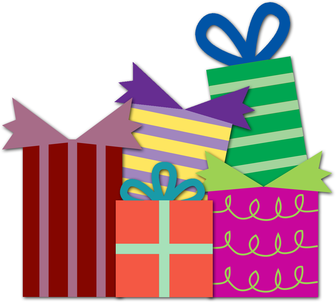 Happy Birthday Gift Clipart