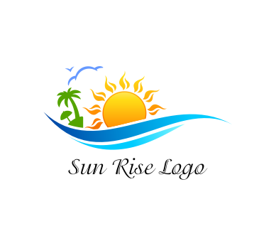 Beach Logo Vector - ClipArt Best
