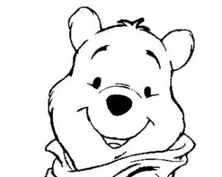 Winnie the pooh drawing stencils clipart best for Winnie the pooh pumpkin carving templates