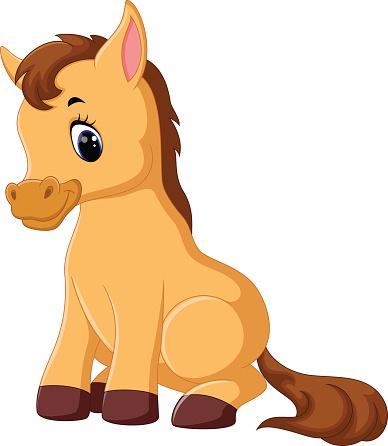 Cute Horse - ClipArt Best