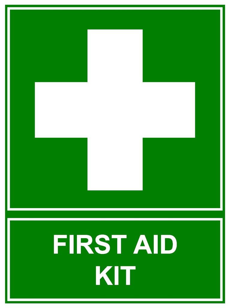 First AID KIT Sign 300 X 225mm Corflute Sign Emergency Sign | EBay ...