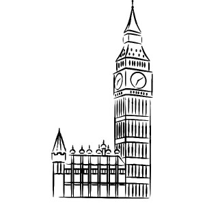 Big Ben Clip Art Black and White – Cliparts | 300 x 300 jpeg 36kB