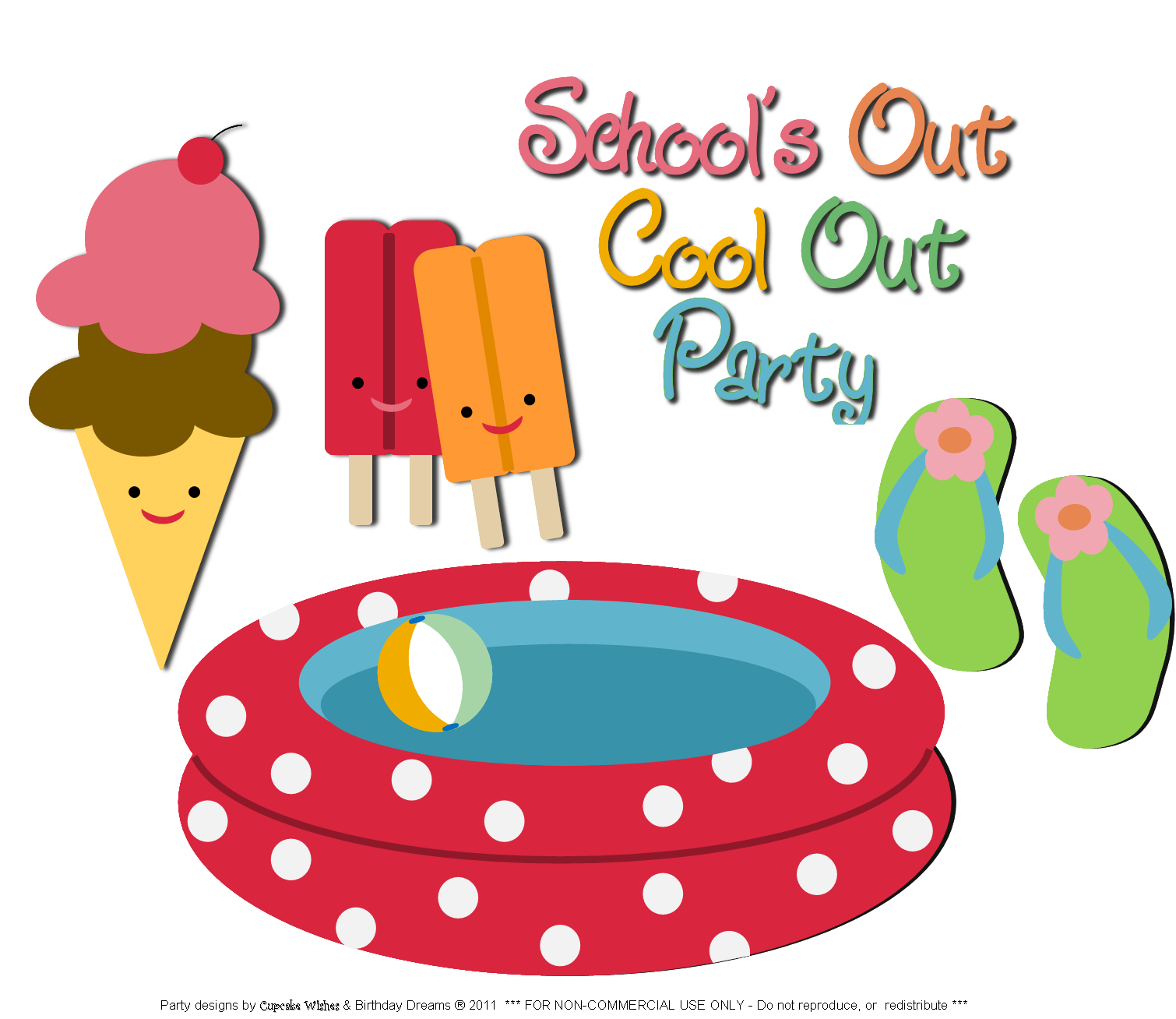 Free clip art pool party clipart best for Free clipart swimming pool party