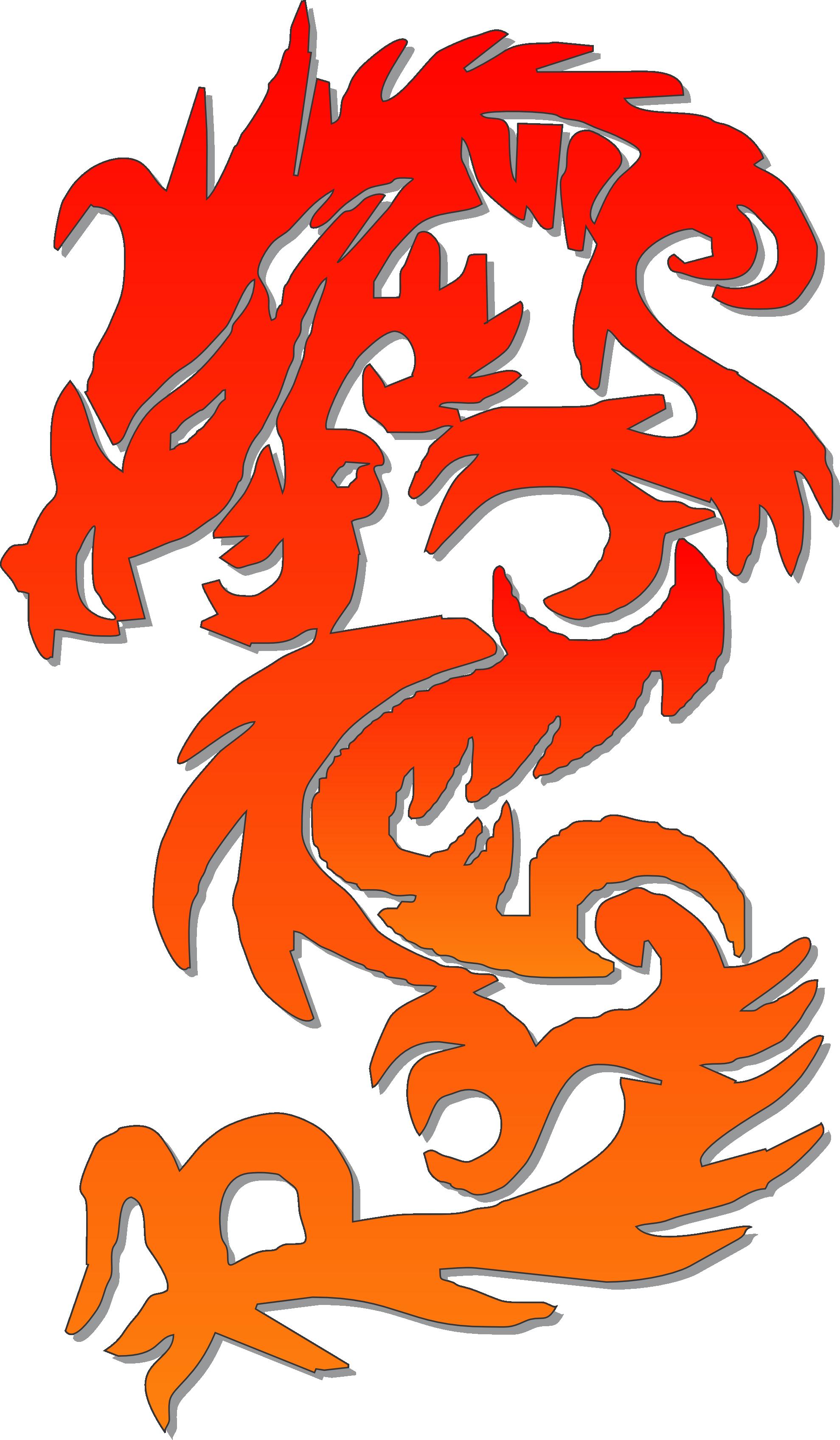 chinese new year dragon clip art - photo #5