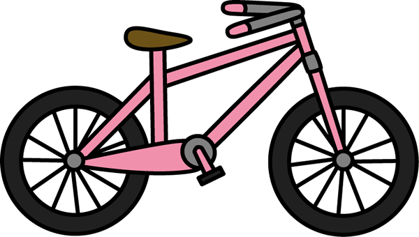 Pink Bicycle Clip Art - Pink Bicycle Image