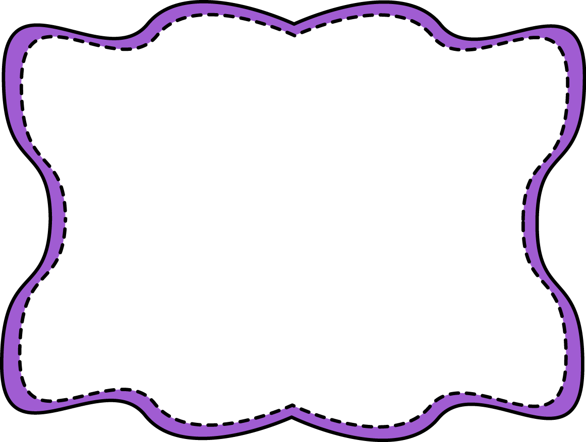 Purple Border Clip Art Purple Top Border Clip Art