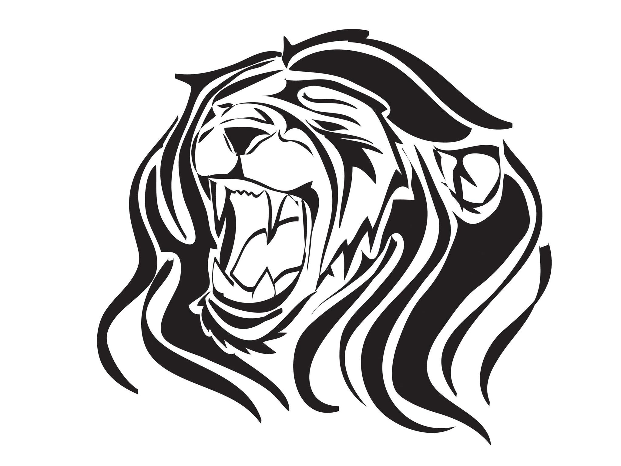 Free Designs Roaring Lion Tattoo Wallpaper ClipArt