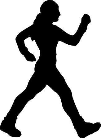 Physical Activity Black And White Cartoon - ClipArt Best