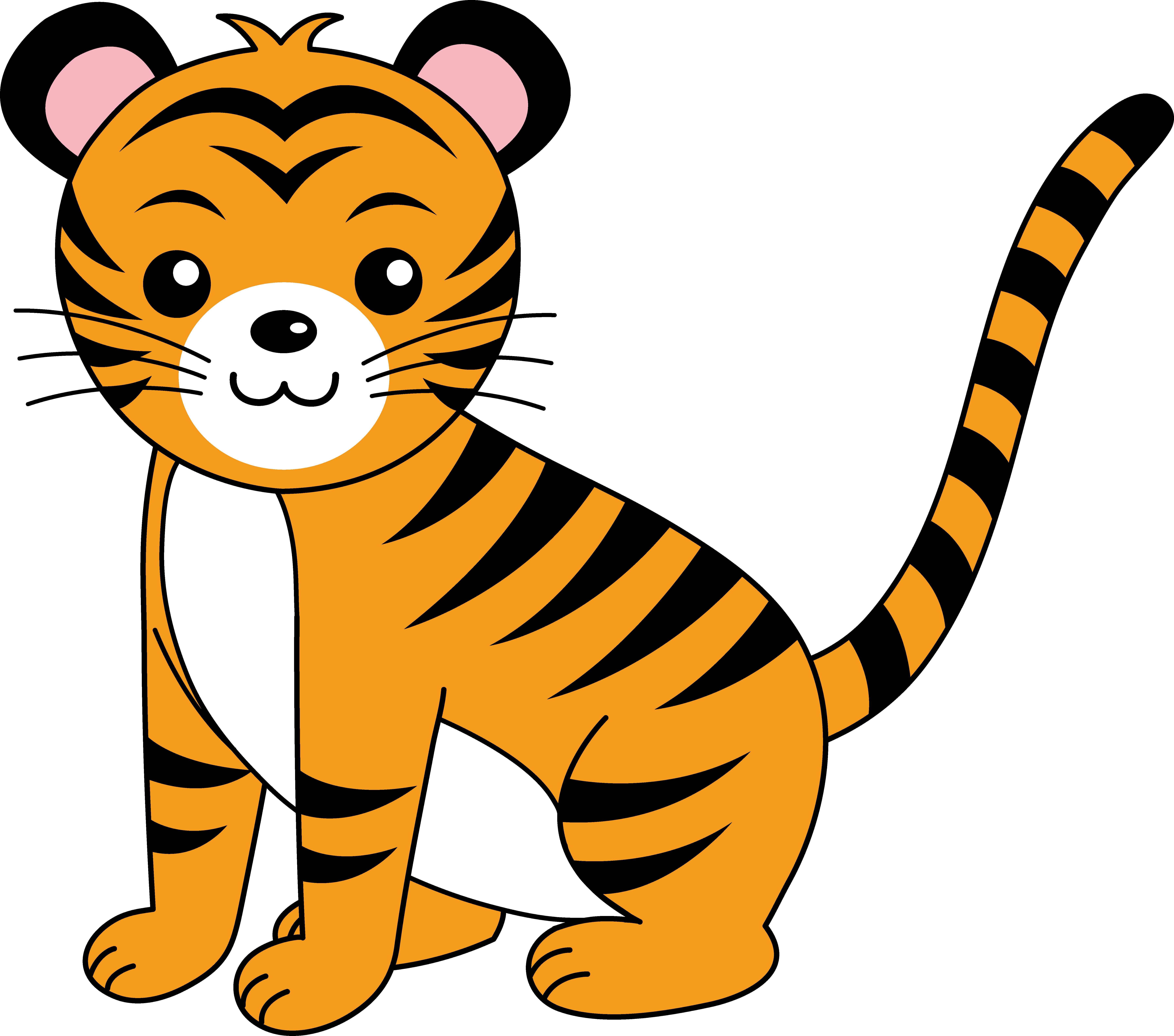 Tiger Cartoon Image