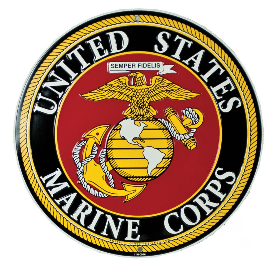 Signs/ Plaques | Art | Sgt Grit - Marine Corps Store