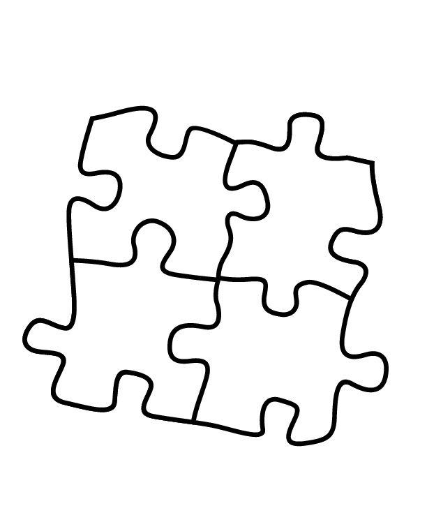 puzzle pieces coloring pages - autism heart puzzle coloring page coloring pages