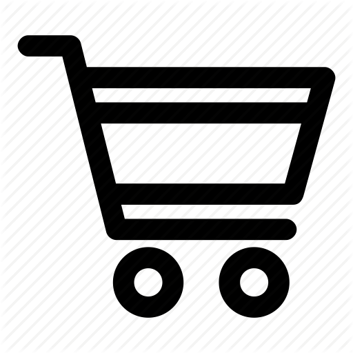shopping trolley icon clipart best