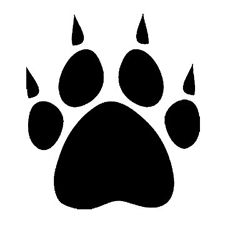 Bear Paw Prints Pictures - ClipArt Best