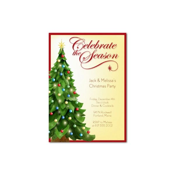 free clipart christmas invitation - photo #12