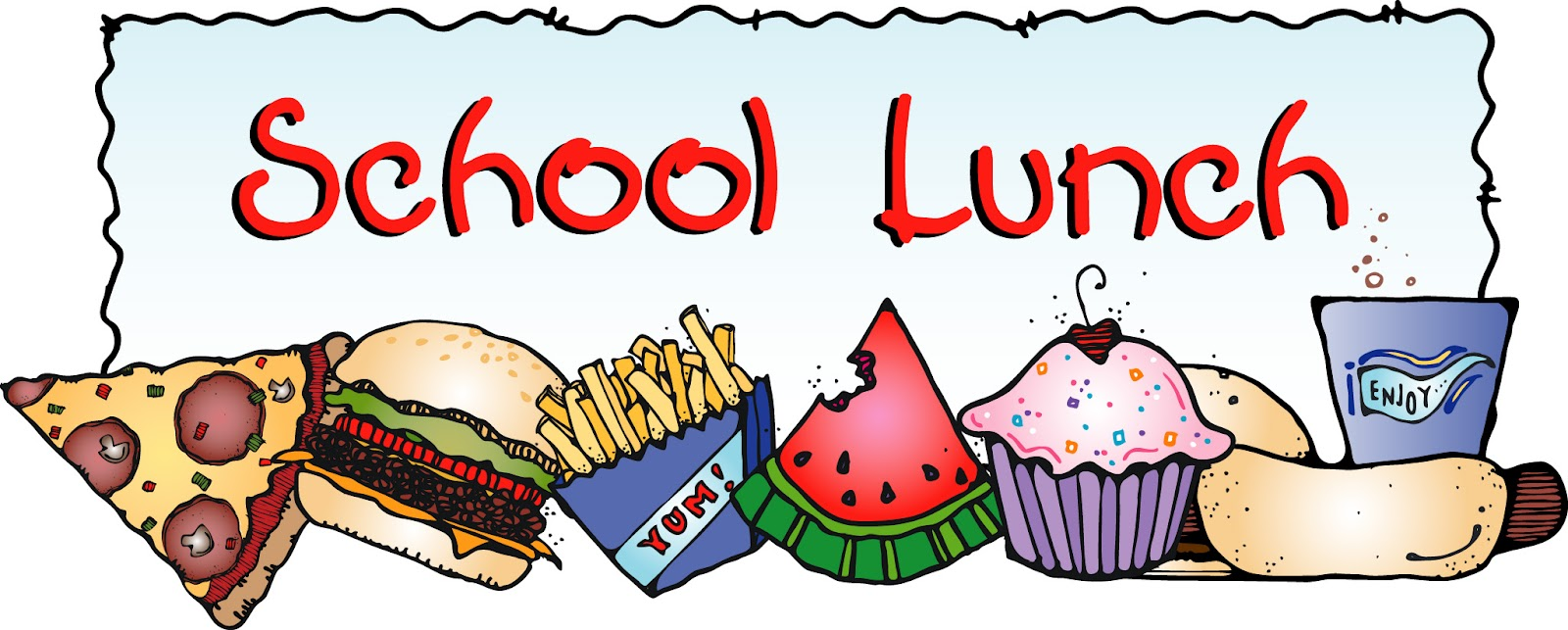 Clipart school lunch - ClipartFox
