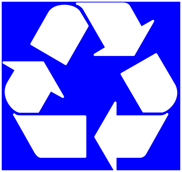 recycling stencil printable clipart best