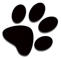 Clipart Bulldog Paw Print - ClipArt Best