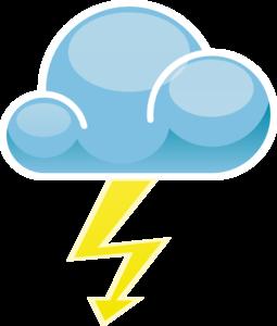 Thunderstorm Symbol - ClipArt Best