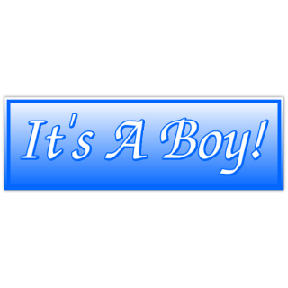 It's A Boy Banner 2 | Birthday Banner, Anniversary Banners ...