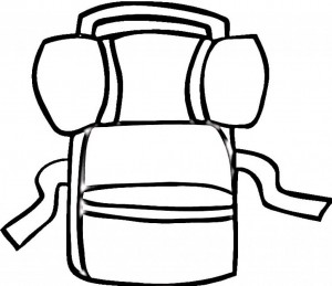 Backpack Coloring Page 14501 at Flooxs.