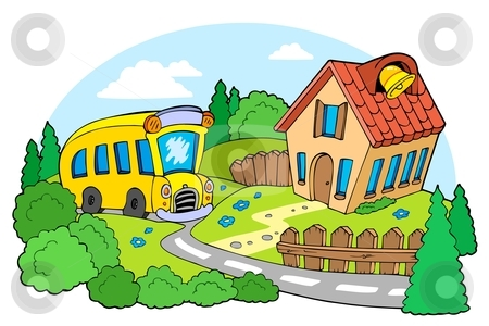 A Cartoon School on sustainable landscape graphics