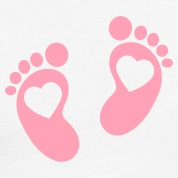 Cartoon baby feet clipart best