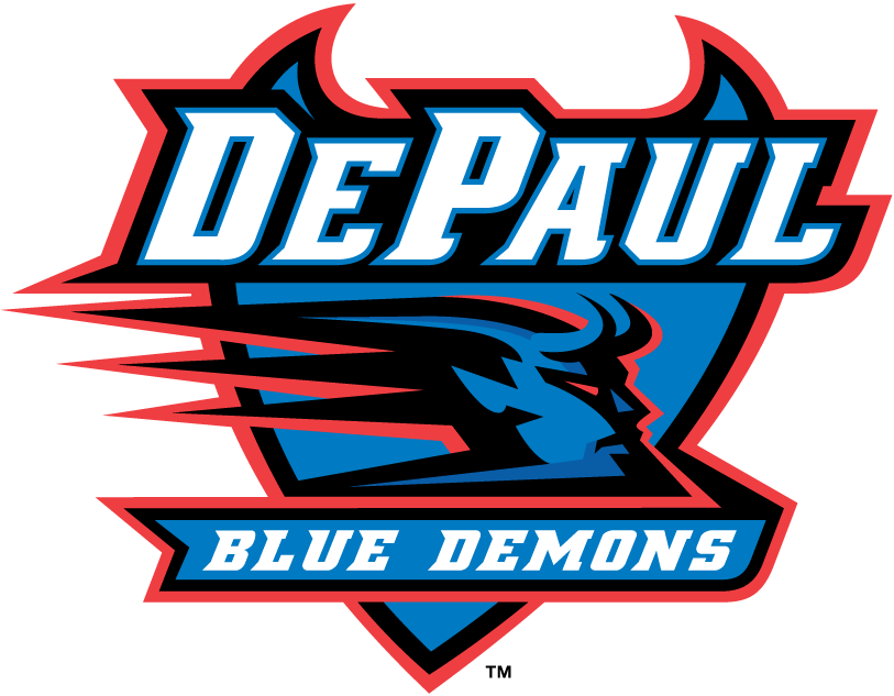 DePaul Blue Demons Primary Logo - NCAA Division I (d-h) (NCAA d-h ...