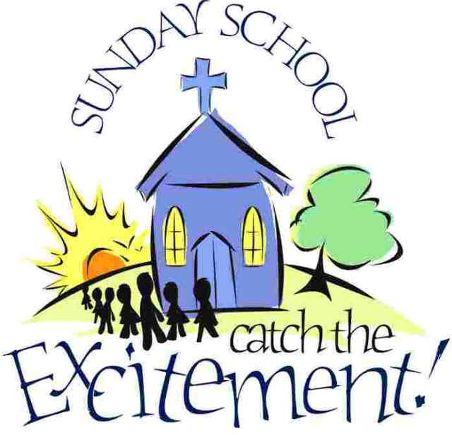 Sunday School Children Clipart