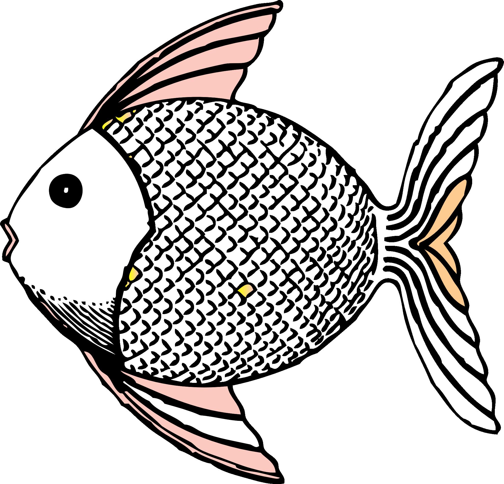 fish clipart white - photo #1