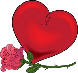 Hearts And Roses Clipart - ClipArt Best
