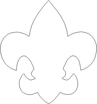 Fleur de lis printable stencil clipart best for Soap carving templates