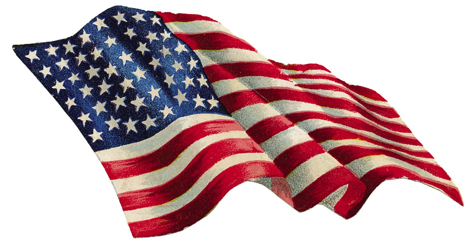 clip art of american flag animated - photo #41