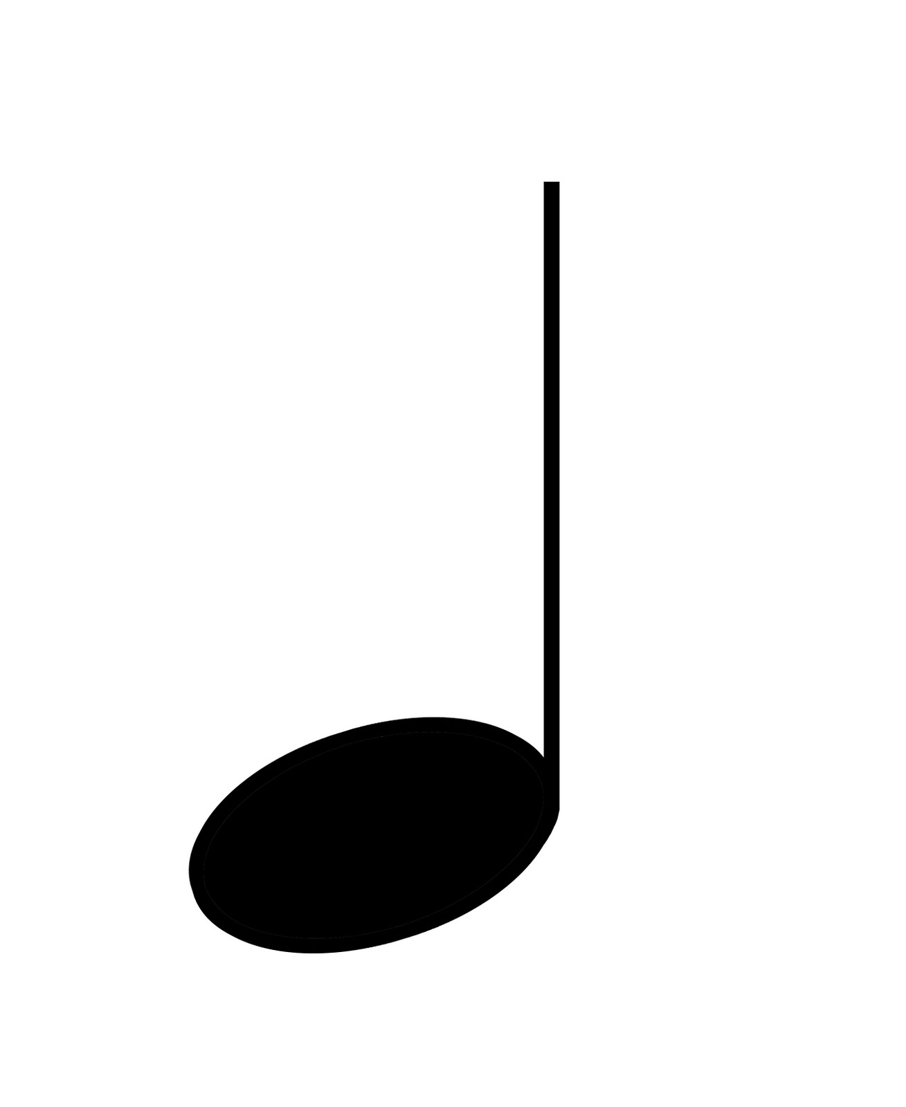 Quarter Note Symbol - ClipArt Best