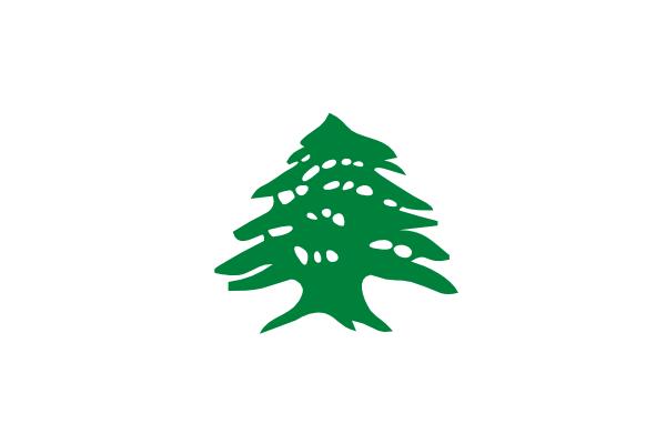 Cedar Flag clip art - vector clip art online, royalty free ...