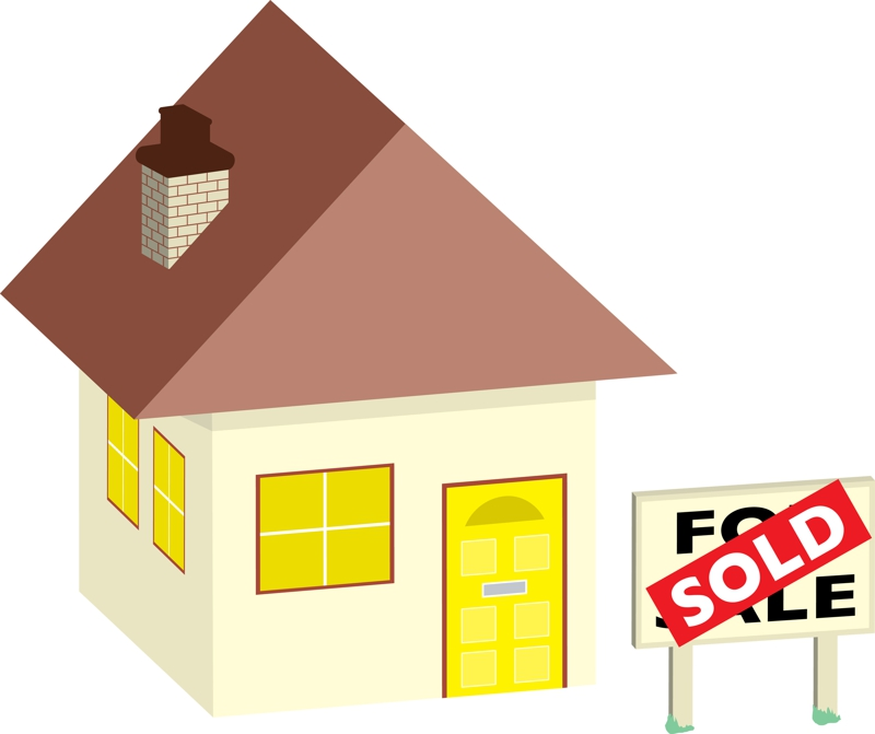 free clipart house for sale - photo #8