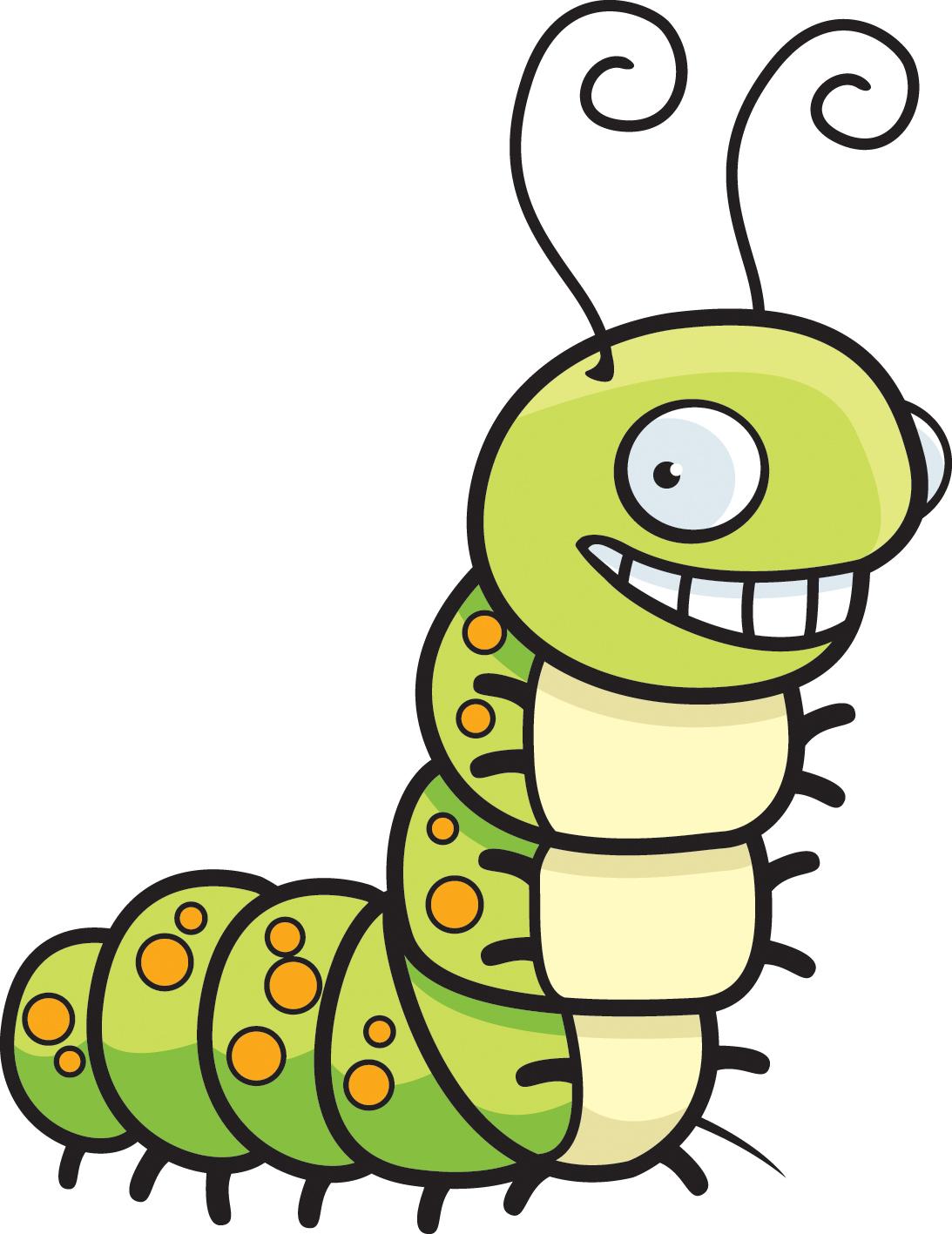 Cartoon Caterpillar Head Clipart Best