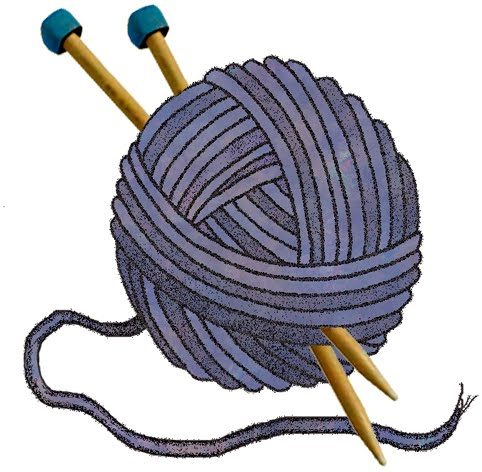 Yarn And Needles Clipart - ClipArt Best