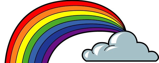 Free Clipart Of Rainbow With 7 Colors - ClipArt Best