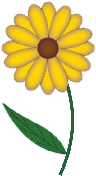 Can't find the perfect clip-art?: www.clipartbest.com/simple-flower-drawing