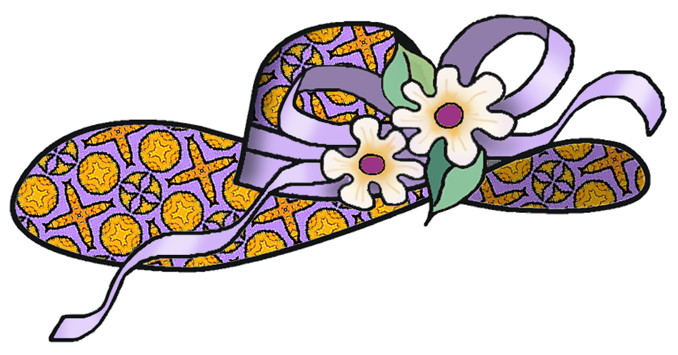 clipart easter bonnets - photo #5