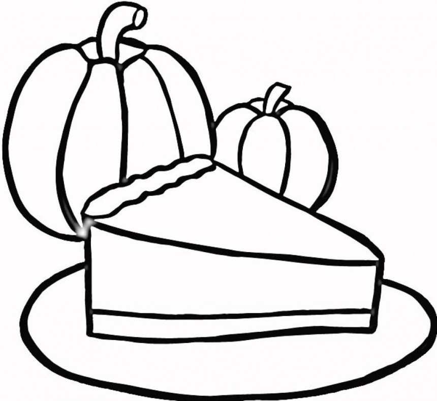 Pumpkin pie coloring page clipart best for Pumpkin pie coloring page