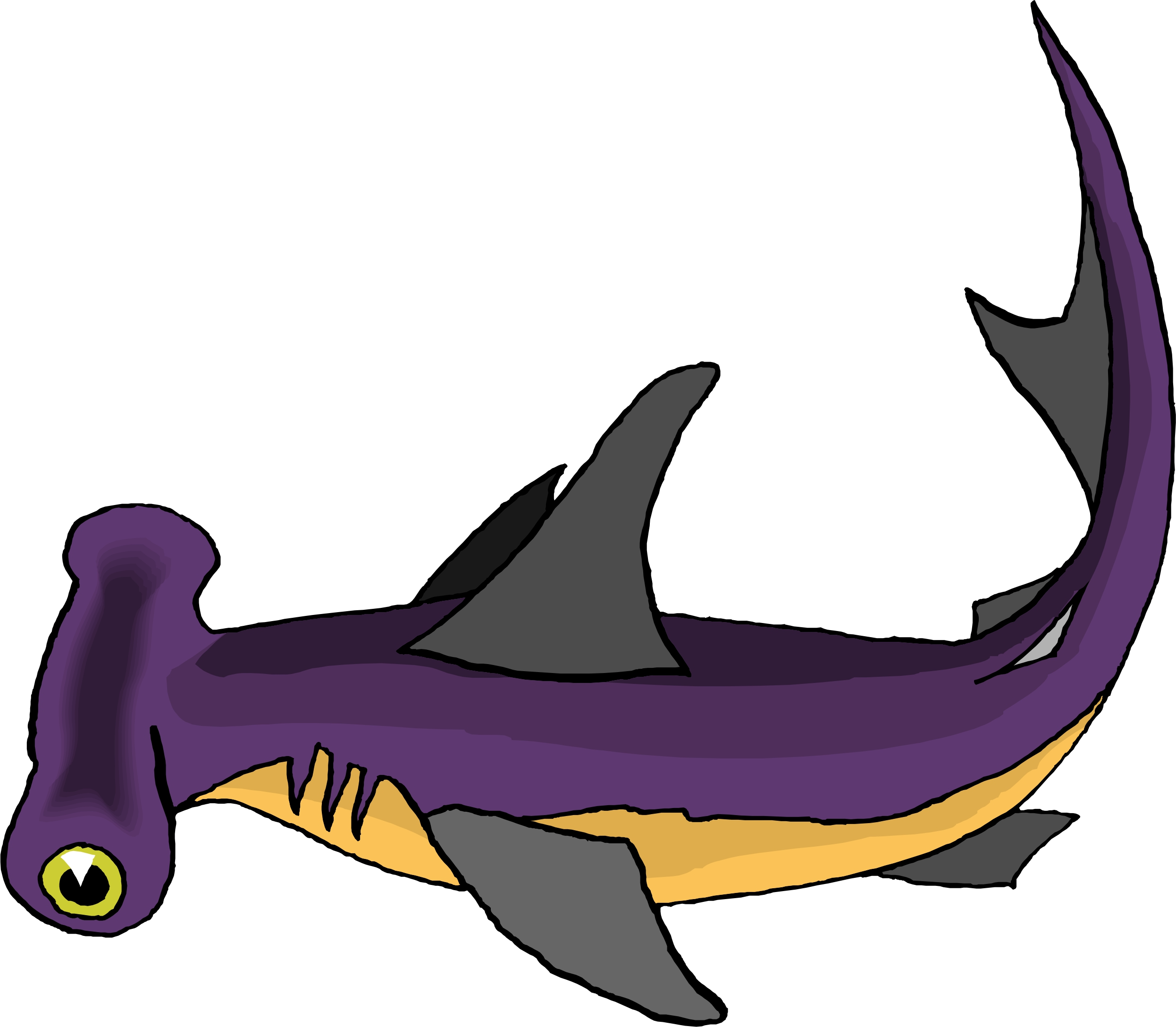 Cartoon Sharks Pictures