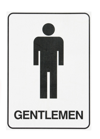 Male Restroom Sign Clipart Best