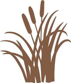silhouette of cattails clipart best cattails plant clipart cattails black and white clipart