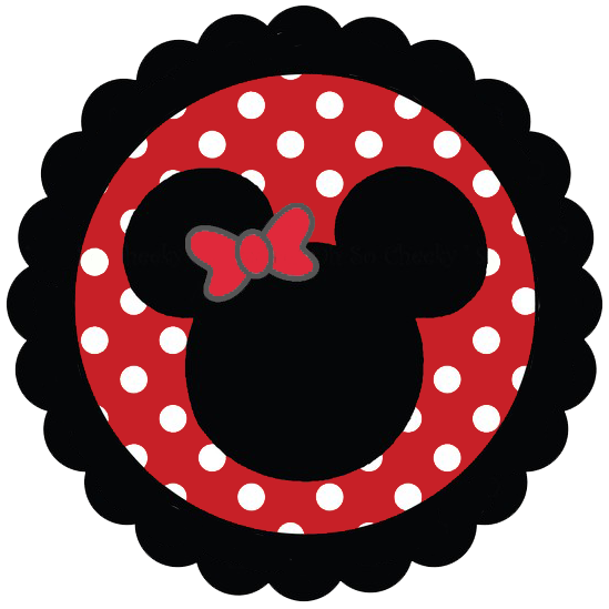 Minnie Mouse Heads ClipartRed Minnie Mouse Head Clip Art