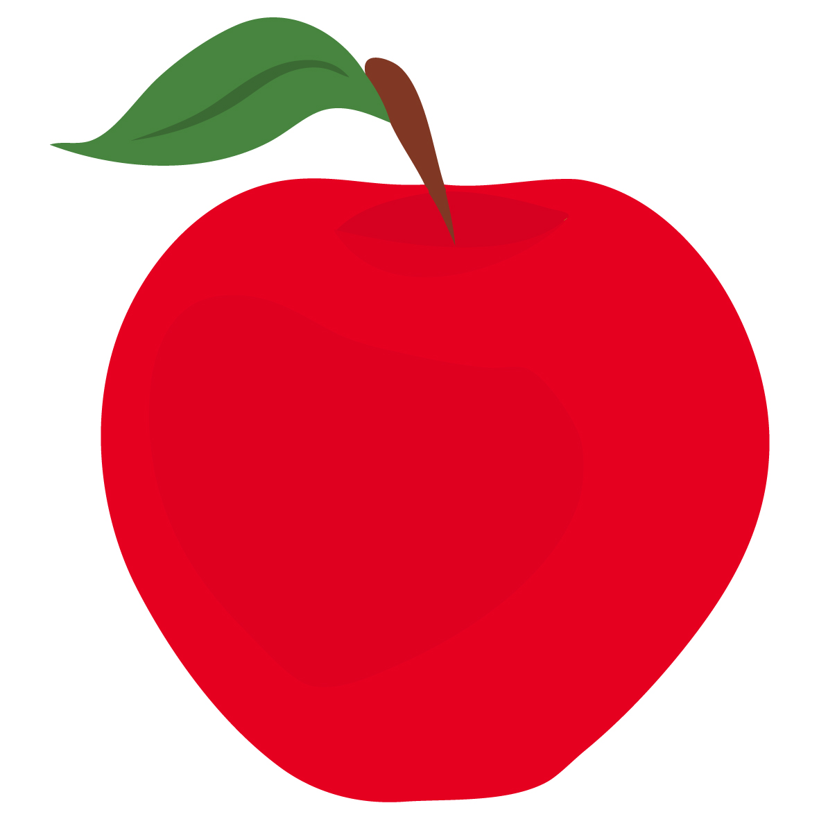 Free Red Apple Clipart Red Apple | Free Eyfs / Ks1