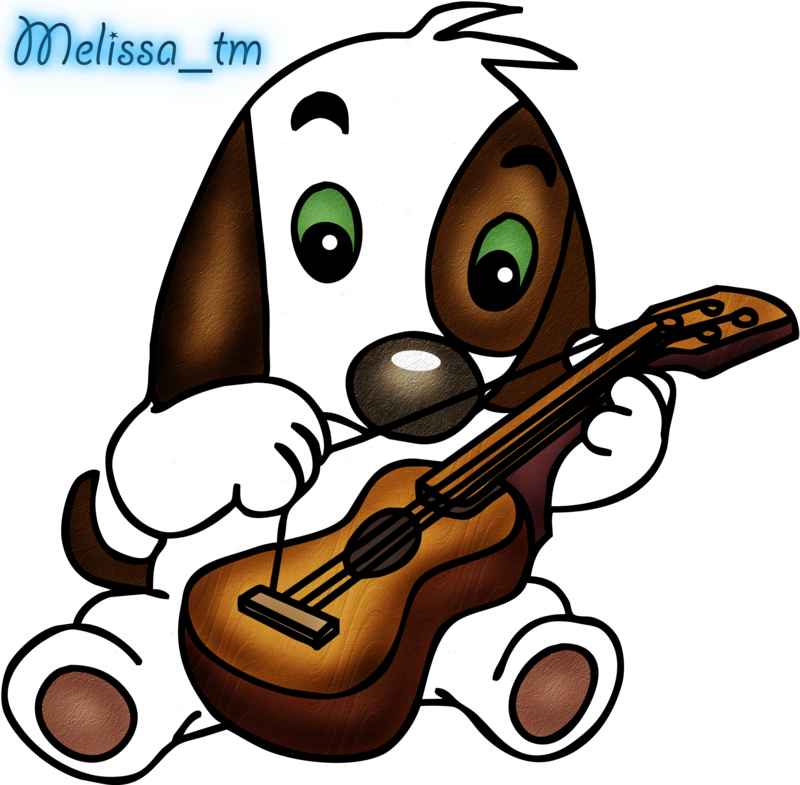 cute dog playing the guitar png - ClipArt Best - ClipArt Best
