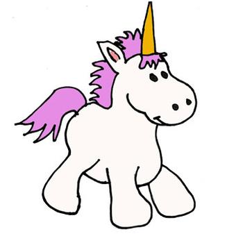 Cartoon Pictures Of Unicorns
